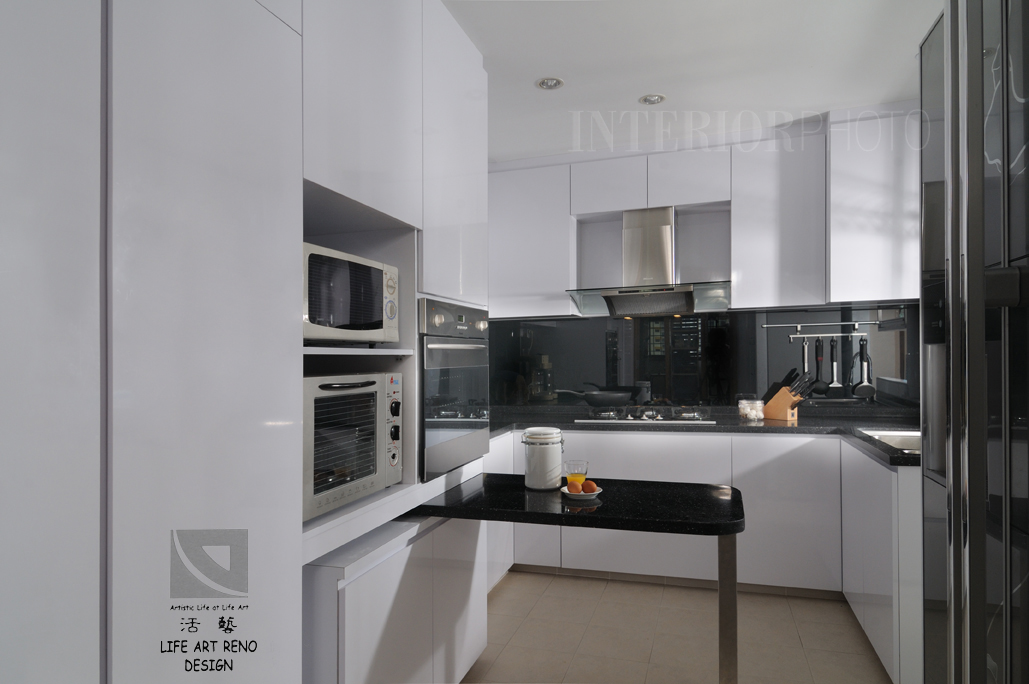 Kitchen design for hdb flat home design intended for for Kitchen ideas singapore