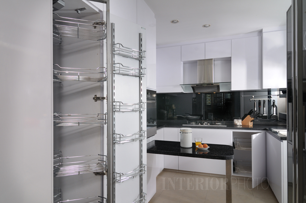 Kitchen Design. Project: HDB Flat Kitchen Design