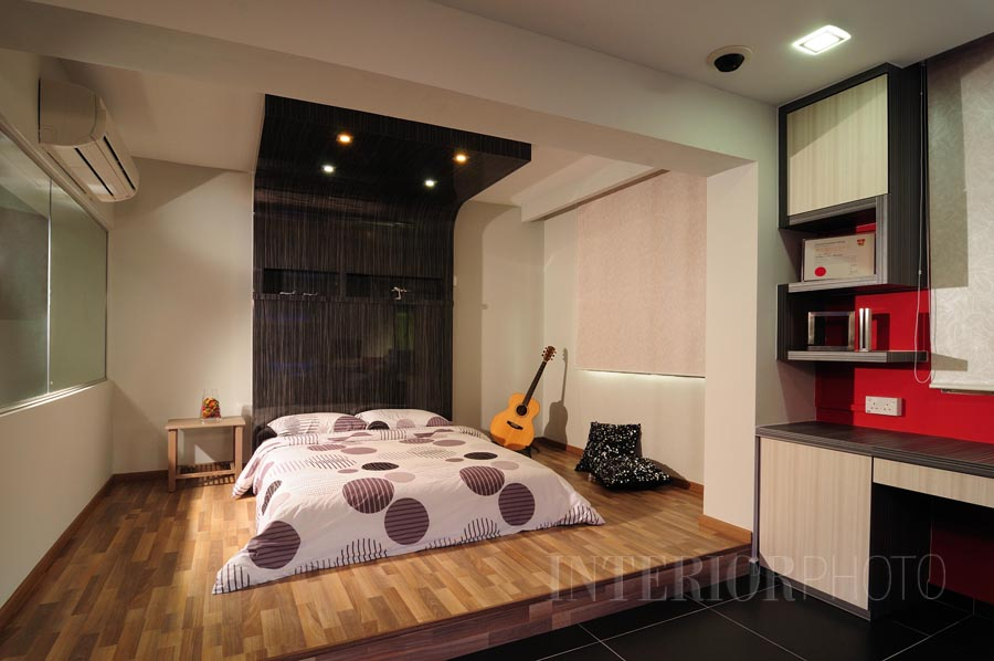 Depot rd 5 room flat interiorphoto professional for Interior design for 2 bed flat