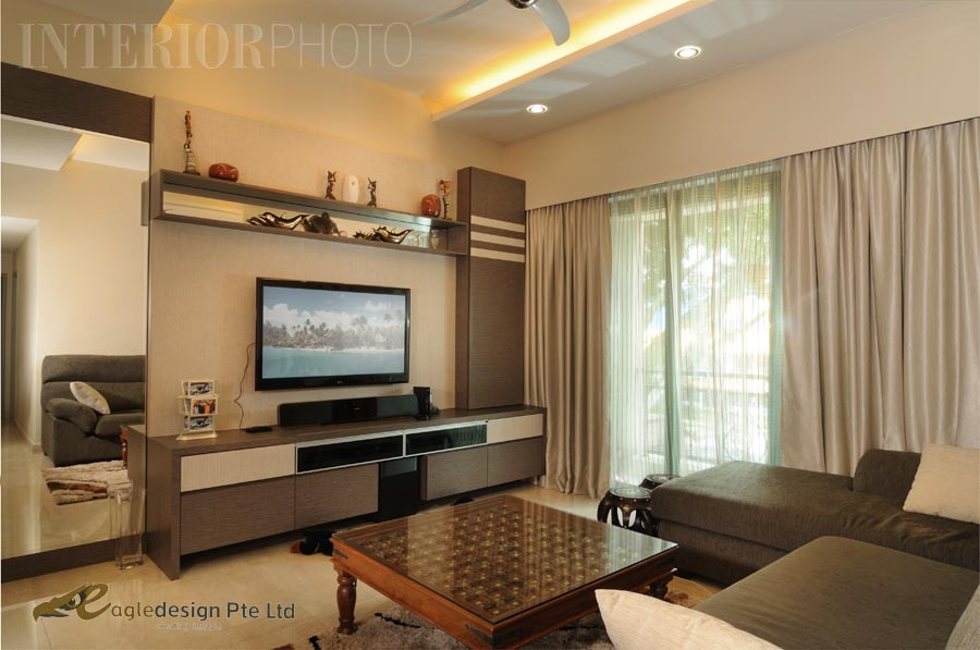 Condo living room interior design1 joy studio design for Condo interior design