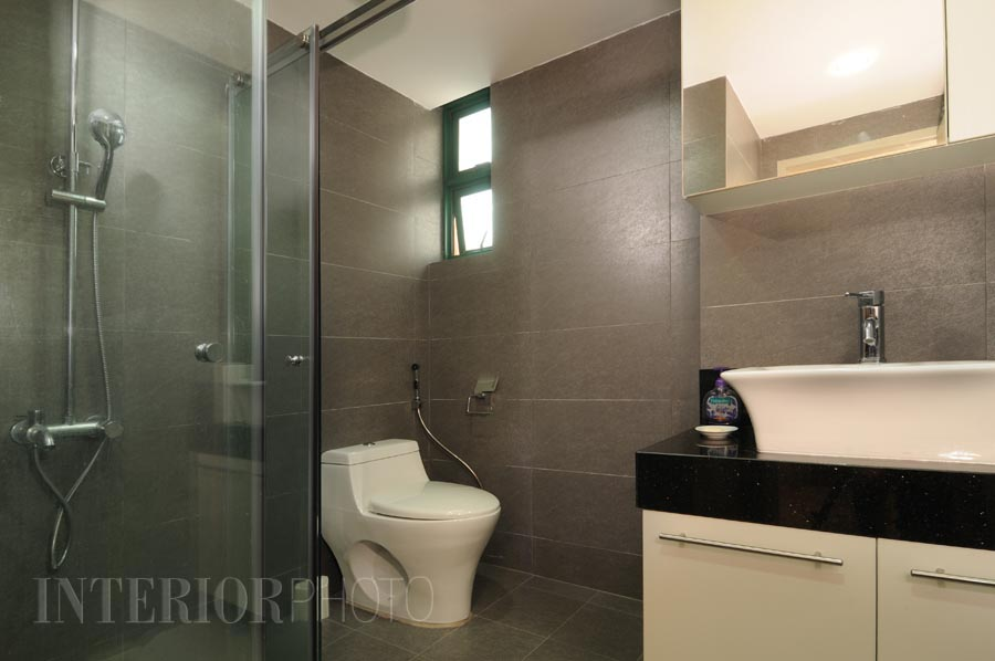 Interior design bathroom singapore for Condo bathroom designs