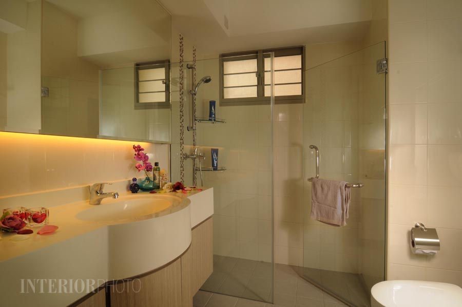 Punggol 4 room flat interiorphoto professional for Bathroom designs singapore