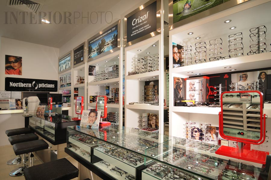 Northern opticians interiorphoto professional for Optical store designs interior