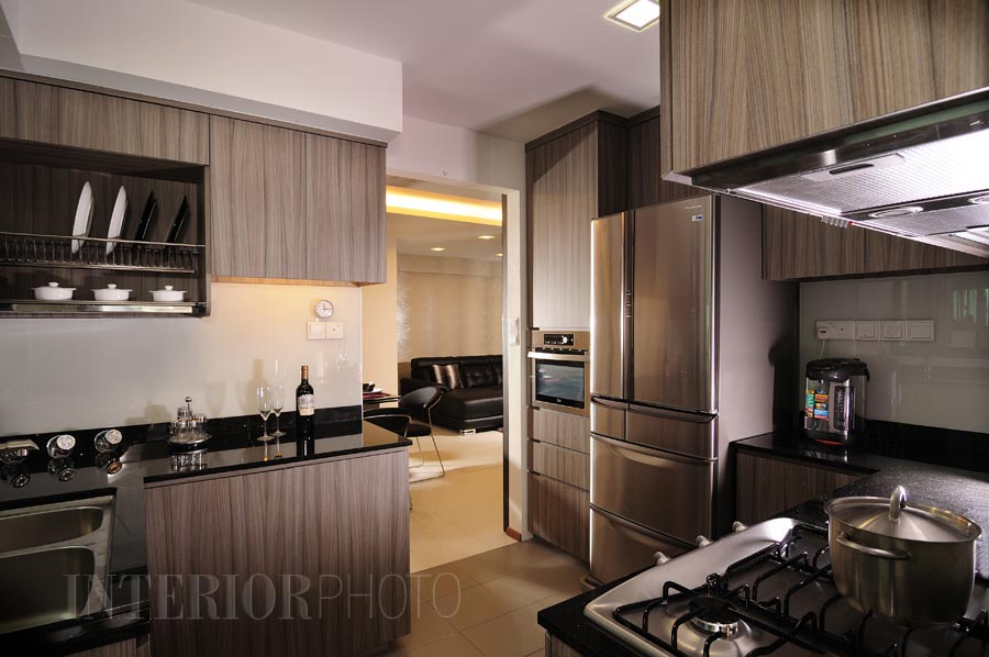 Pinnacle duxton interiorphoto professional photography for interior designs Kitchen design in hdb