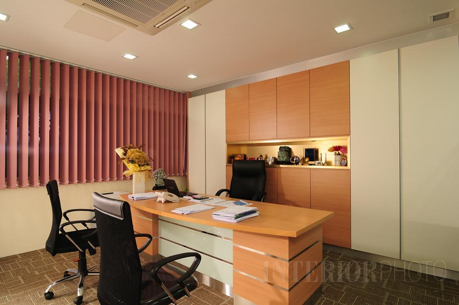Office fourway engineering interiorphoto professional for Director office room design