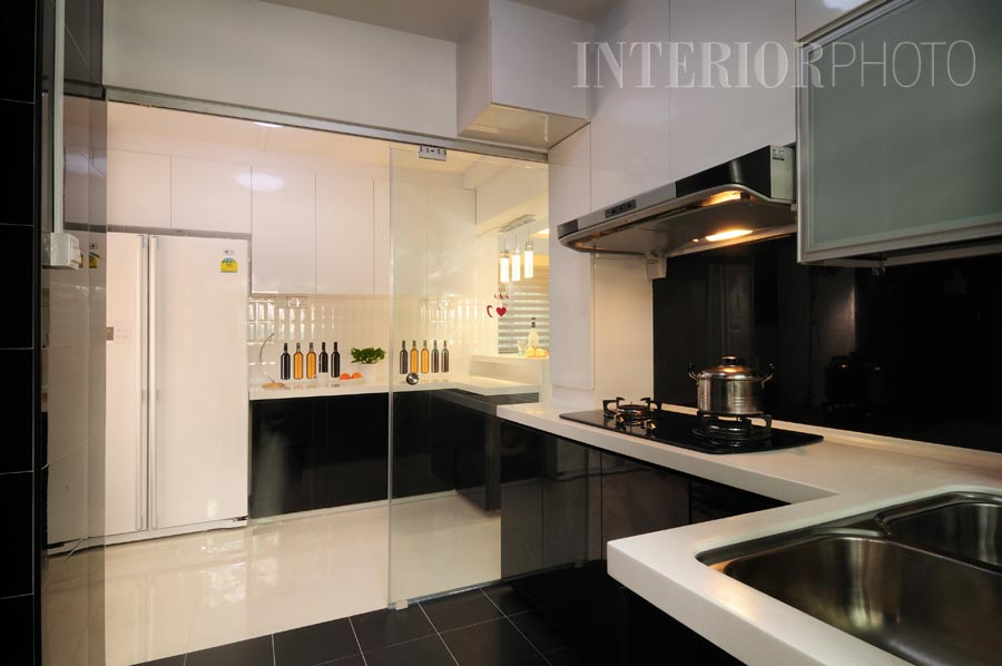 Pasir ris maisonette interiorphoto professional for Kitchen design hdb