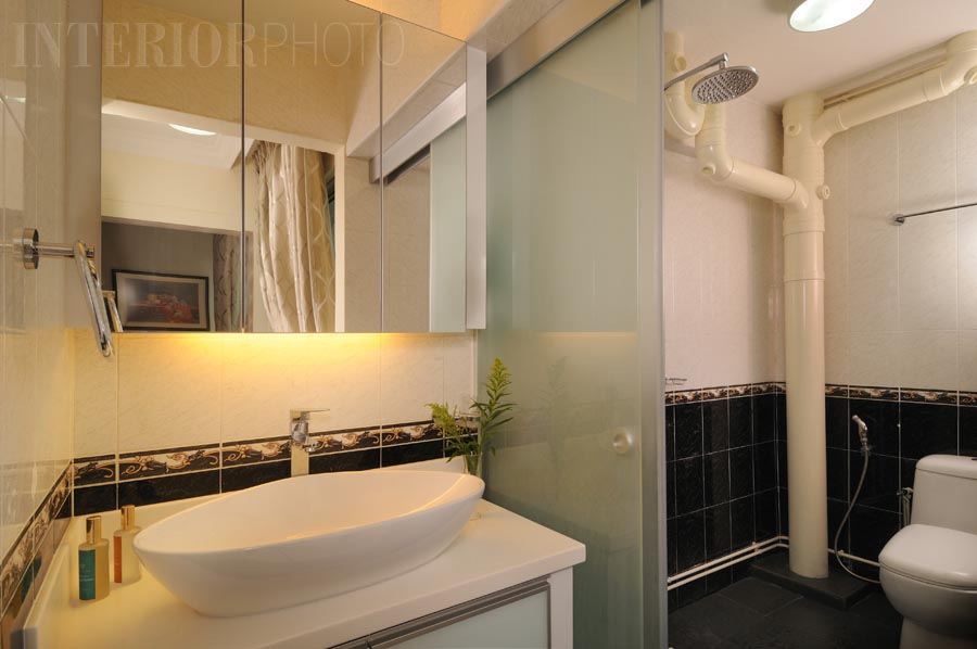 Jumbo flat marsiling interiorphoto professional for Bathroom designs singapore
