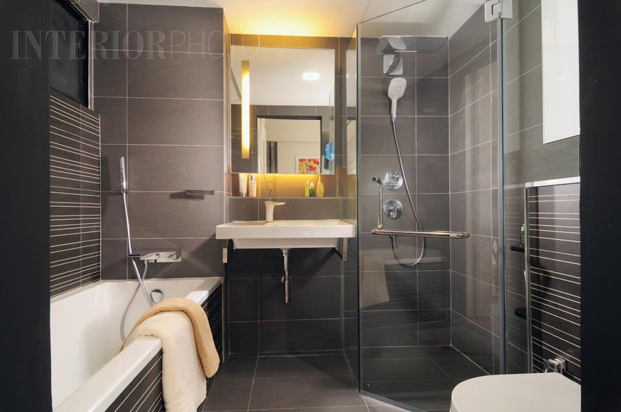 Singapore luxury condo showflat interior designs joy for Condo bathroom designs