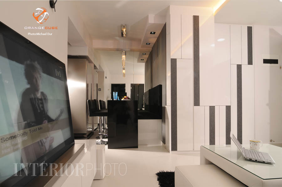 Cantonment 3 rm flat interiorphoto professional for Flat interior design ideas