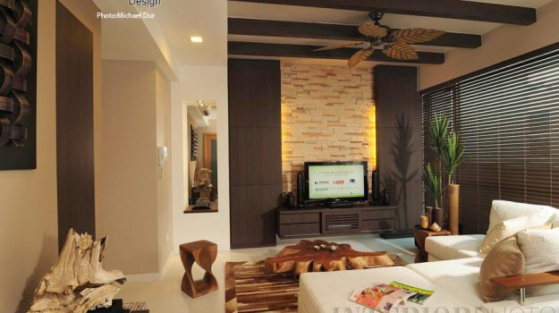 ... Condo Interior Design Tropical Resort Living Room 625x350 ...
