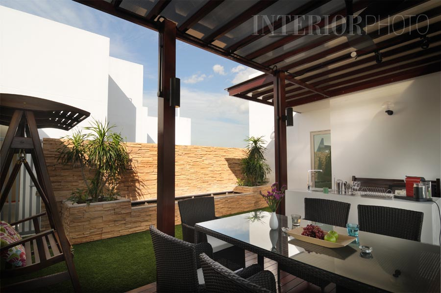 Livia penthouse interiorphoto professional photography for Terrace roof design india