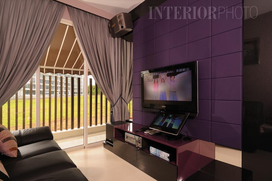 Seletar green walk interiorphoto professional for Karaoke room design ideas