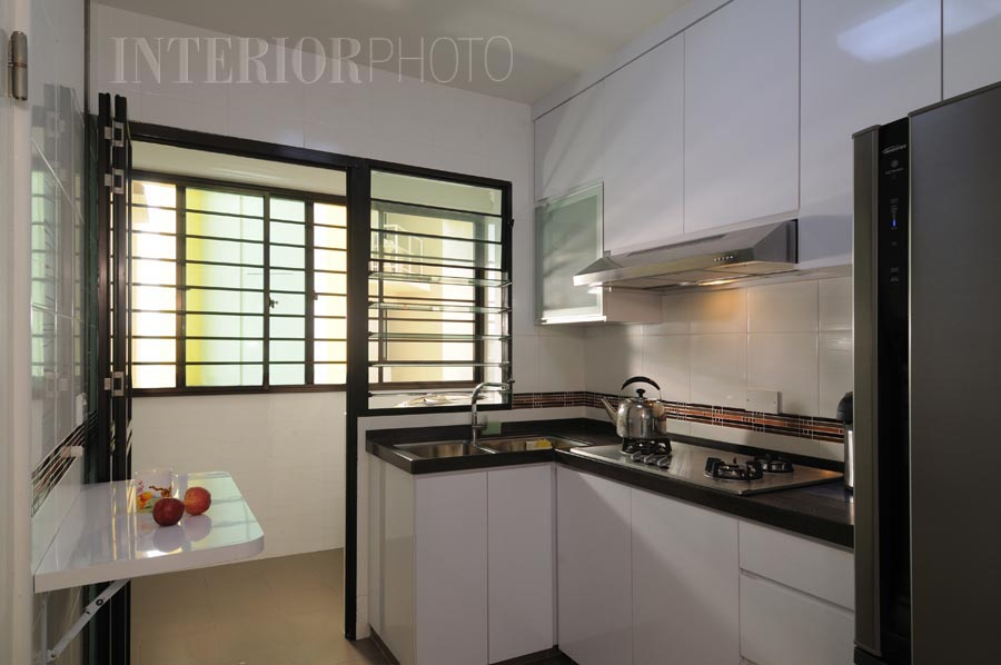 Havelock rd 3 rm flat interiorphoto professional for Kitchen ideas singapore