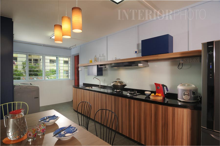 Flat 3 HDB Rooms Interior Design Kitchen