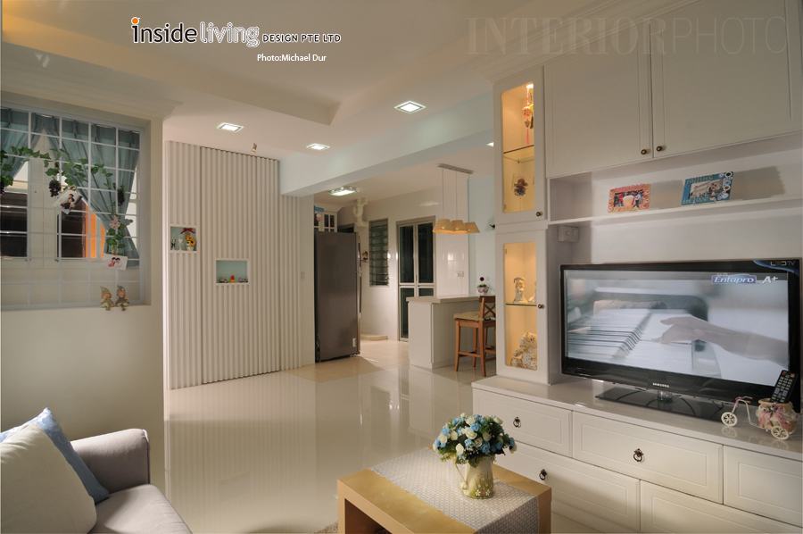 4 rm punggol central interiorphoto professional for Interior design 4 room hdb flat