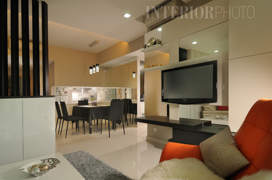 Hdb interior design for Living room interior design singapore