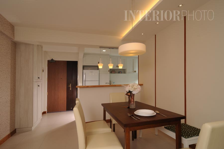 Singapore 4 room flat interior design photos for Interior designs for flats