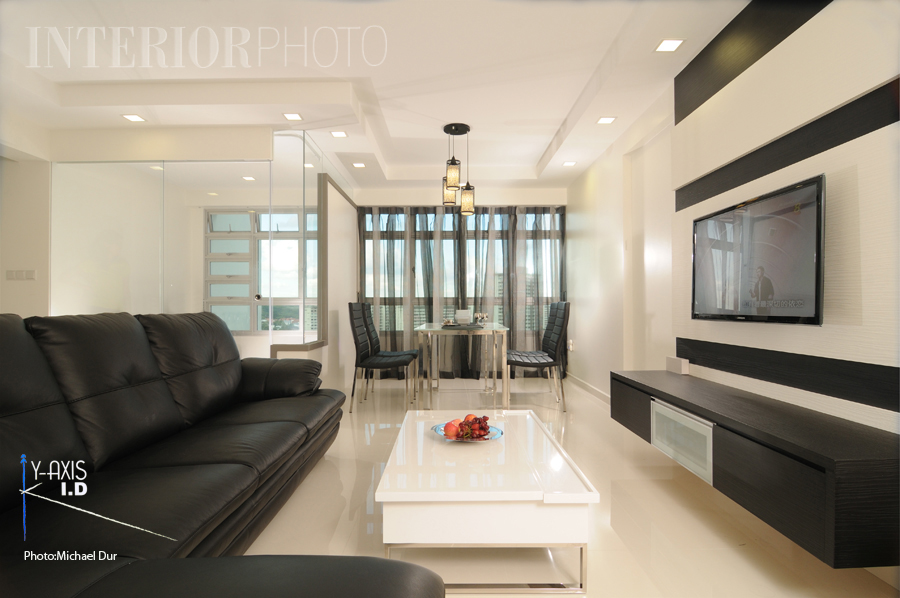Singapore interior design Simple and nice minimalist HDB flat