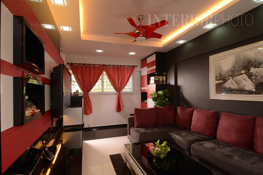 Jurong 3 room flat interiorphoto professional for 3 room flat interior design
