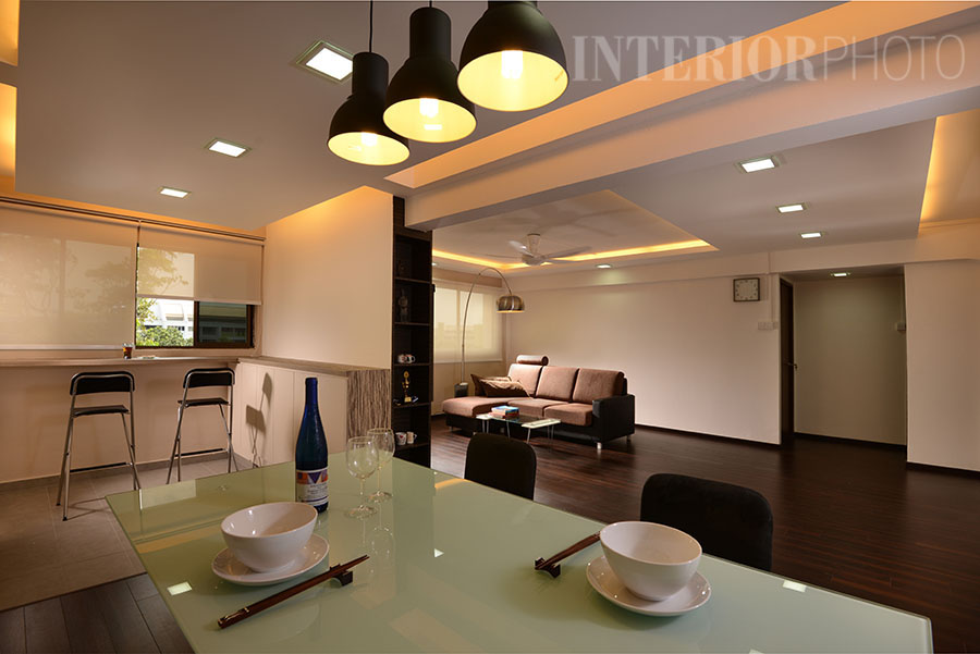 3 Room Hdb Flat Interior Design Singapore Condo Landed Of Kitchen