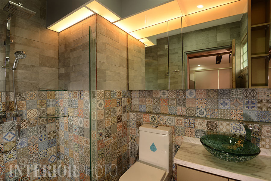 Segar road 3 room flat interiorphoto professional for Bathroom in spanish