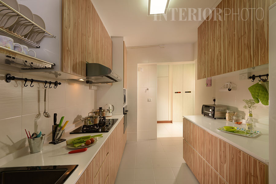Yishun 4 room flat 2 interiorphoto professional for Kitchen ideas singapore