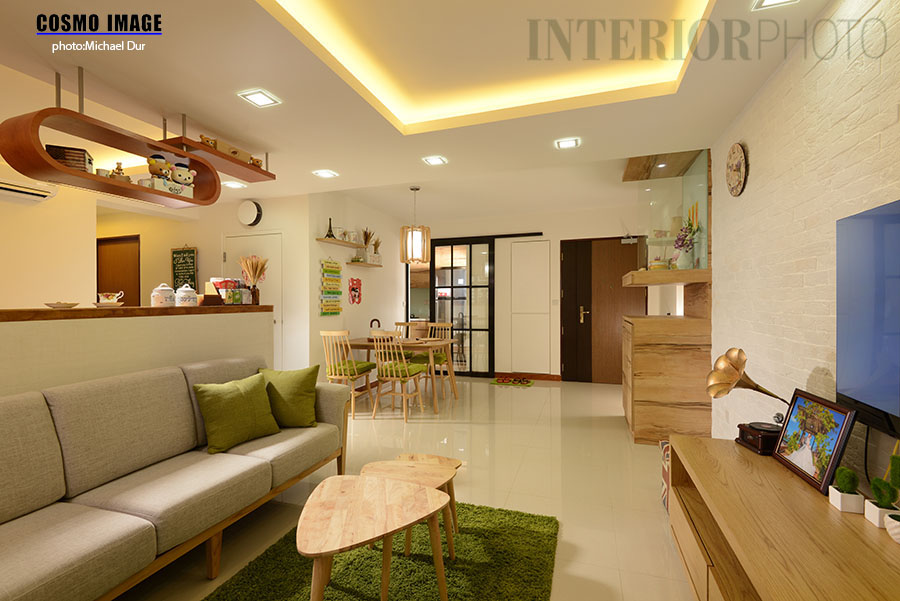 Anchorvale crescent bto 5 room flat interiorphoto for Interior design singapore hdb 5 room flat