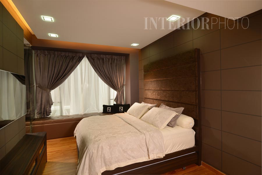 Hdb Master Bedroom Design Great Designscale Modern Mirror Feature - Hdb master bedroom design singapore